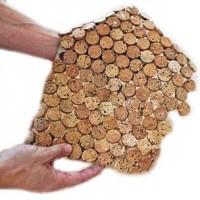 Cork Mosaic Flooring