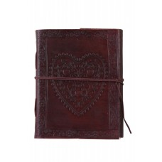 Heart of love Leather journal
