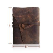 Handmade Crazy-Horse Leather Bound Journal
