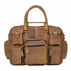 Belfort Laptop Bag -Tan Color