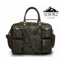 Belfort Laptop Bag -Black Color
