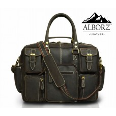 Belfort Laptop Bag -Black Color