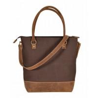 Grace Canvas Shoulder Bag