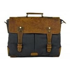 Canvas Leather Laptop Bag