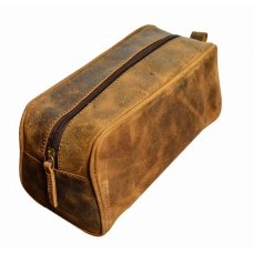 Leather Toiletry Kit -ALZT1